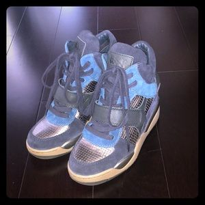 Ash wedge sneakers with Velcro strap